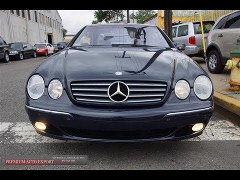 2002 Mercedes Benz Cl500 Youtube