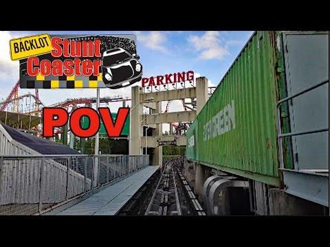 Backlot Stunt Coaster HD POV \u0026 Review, Kings Dominion, Kings Island, Canada's Wonderland