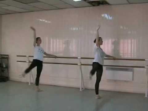 Julie et marie la barre 2 acad mie de danse jacquemin for Barre danse