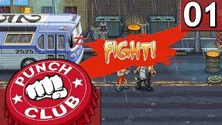 """Punch Club #1 Der """"auf die Fresse"""" Retro Simulator"""