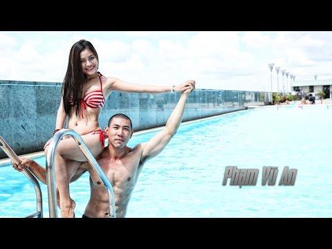Phạm Vũ An - Bộ ảnh hồ bơi với mẫu Khánh Tiên - Casting gymer đích thực vòng 6