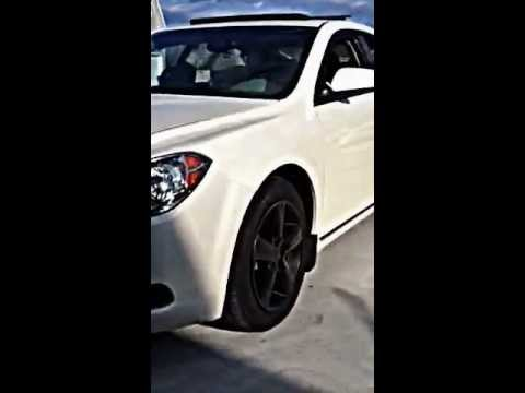 Plasti Dipped Black On White Malibu Youtube