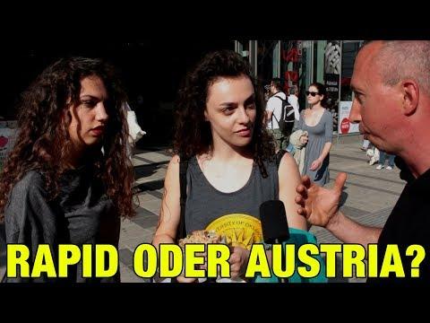 RAPID ODER AUSTRIA? Umfrage in Wien Mitte