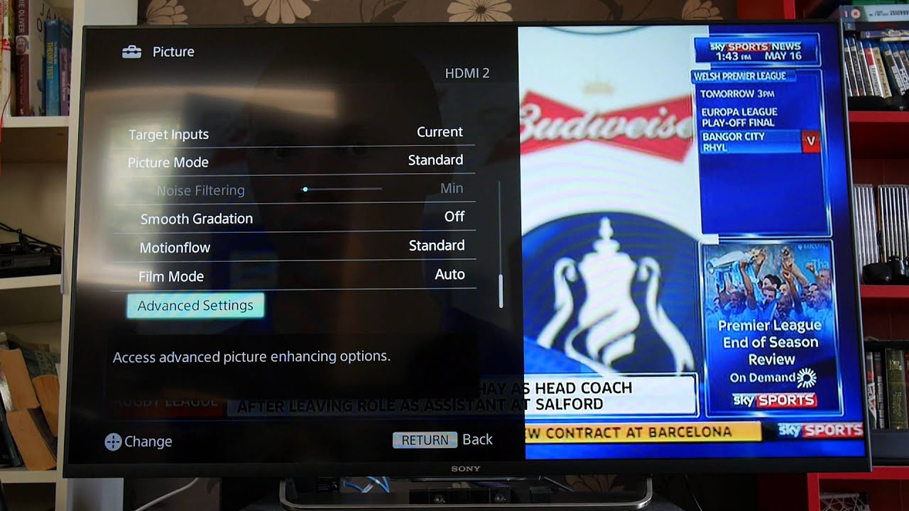 how to turn on sony bravia 32 tv without remote