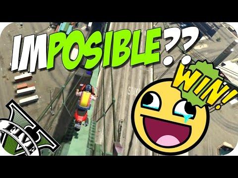 ¿IMPOSIBLE? ¡¡VICTORIA!!   #88   GTA V IMPOSSIBLE RACE CON DaniRep   Por Flow