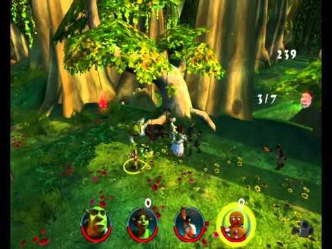 Shrek 2 Team Action