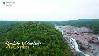 Beautiful water falls of Telangana