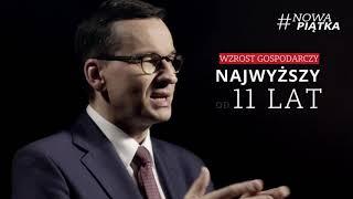 #NowaPiątka Premier Morawiecki: Gospodarka i społeczeństwo idą w parze