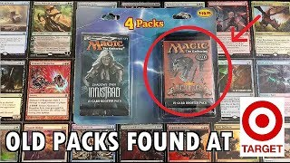 Old MTG Booster Packs Found at Target