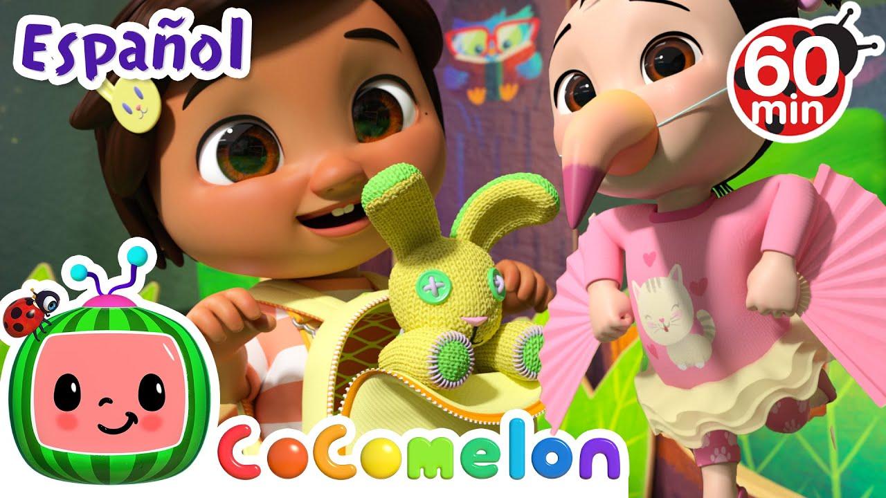 CoComelon en Español | Adivina el animal | Compilación de Canciones Infantiles y de Cuna