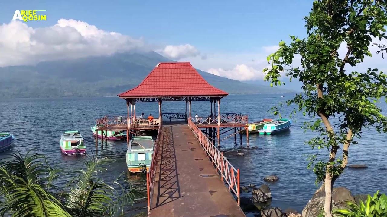 Yuk Intip Danau Ranau Air Terjun Dan Pantai Pelangi Destinasi Wisata Oku Selatan Youtube