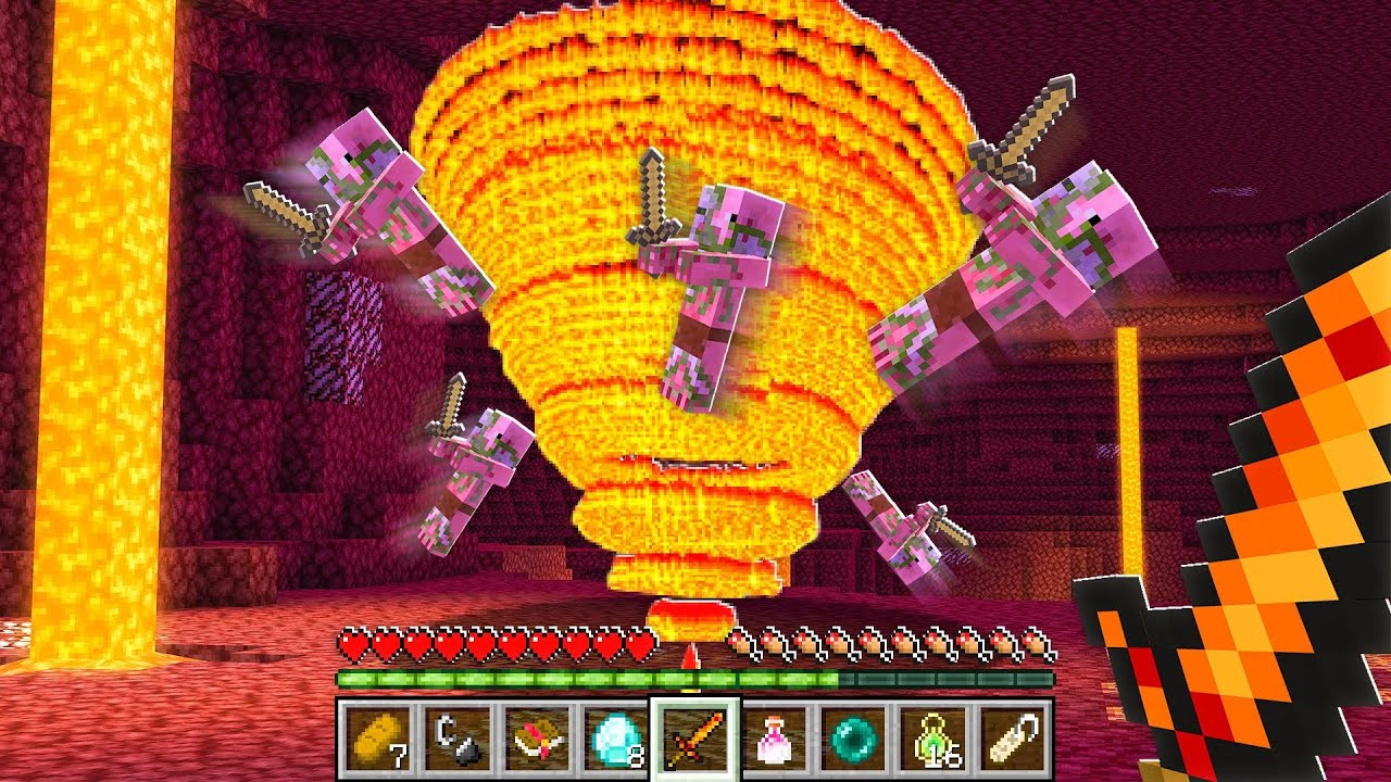 7 NEW Enchants that Should be Added to Minecraft! (Nether) thumbnail