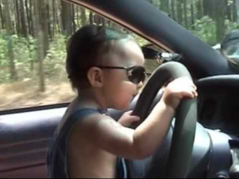 Image result for baby driving car