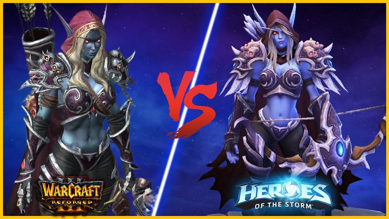 Reforged Vs Hots Models Side By Side Comparison Warcraft 3