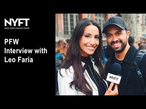 Paris Fashion Week 2017 - Ana Carttori Entrevista Fotógrafo Leo Faria Para NYFT