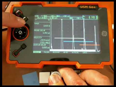 USM Go+ Multi Echo Thickness Measurement