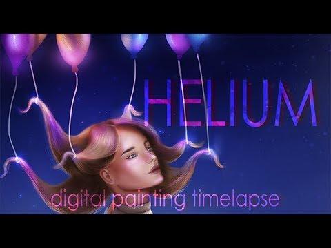 Helium | Digital Painting Timelapse