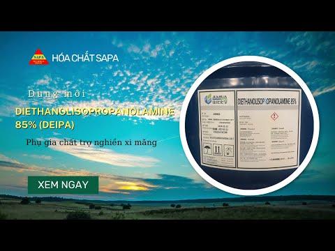 Chất trợ nghiền xi măng Triisopropanolamine (TIPA)