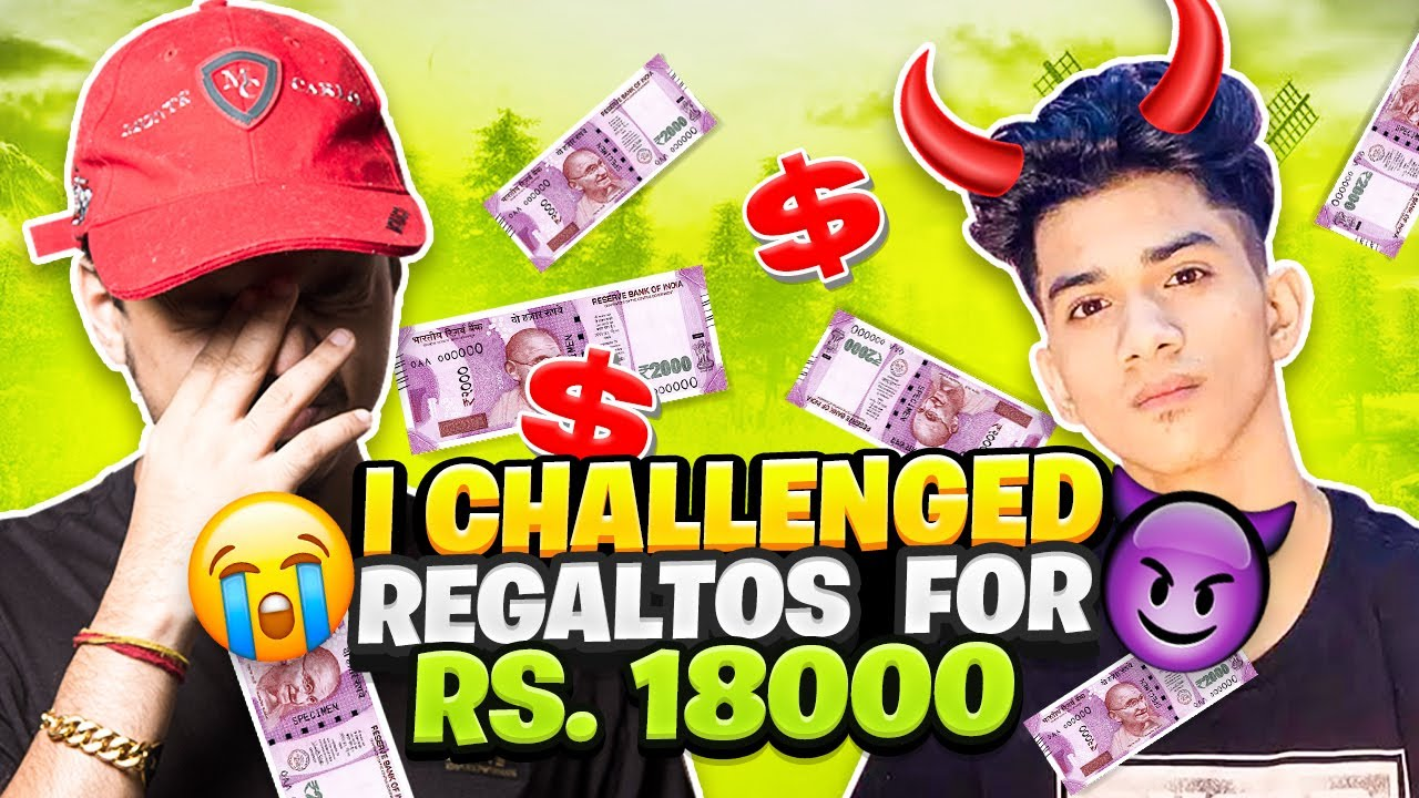 I challenged @SOUL Regaltos for Rs. 18000 | Livik Special Duo vs Squad | *Audio Issue at the start*