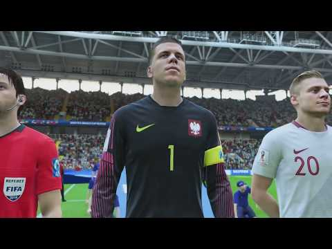 World Cup 2018 - Poland vs Senegal - Group H Full Match Sim (FIFA 18)