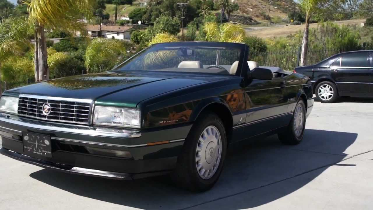 Maxresdefault on 1993 Cadillac Allante
