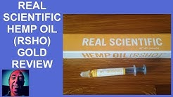 Real Scientific Hemp Oil   RSHO   Gold Review