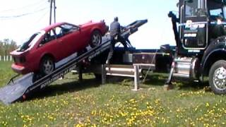 Rotating Flatbed Recovery part 2