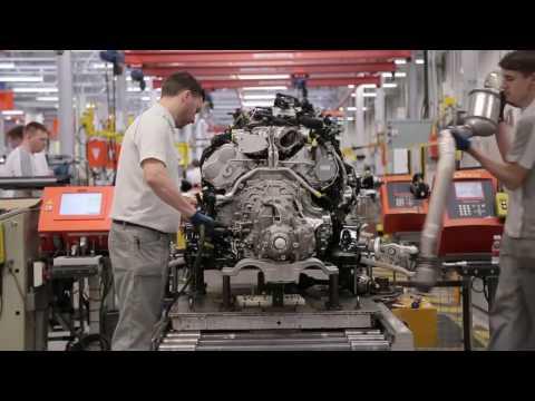 Как делают Мотор Bentley. Bentley W12 Engine Супер интересное видео.