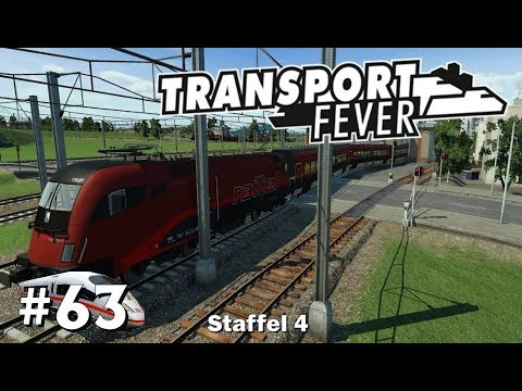 Transport Fever S4/#63: Mit dem Railjet nach Wien [Let's Play][Gameplay][German][Deutsch]