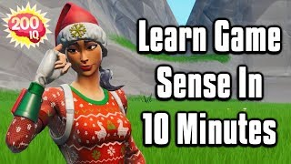 Improve Your Game Sense In JUST 10 Minutes! - Fortnite Battle Royale
