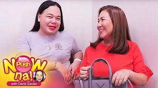 Push Now Na: Kathryn Bernardo's mommy Min shows what's inside her bag