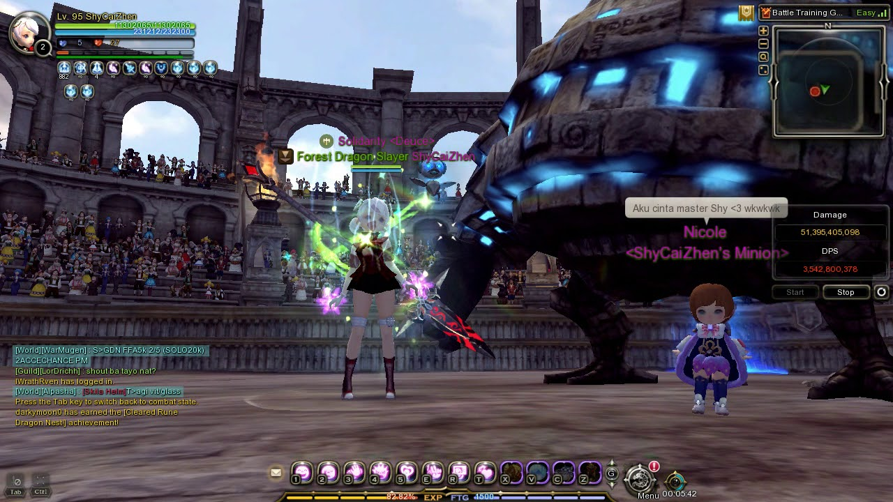 Dragon Nest Sea : My Flurry Skill Rotation