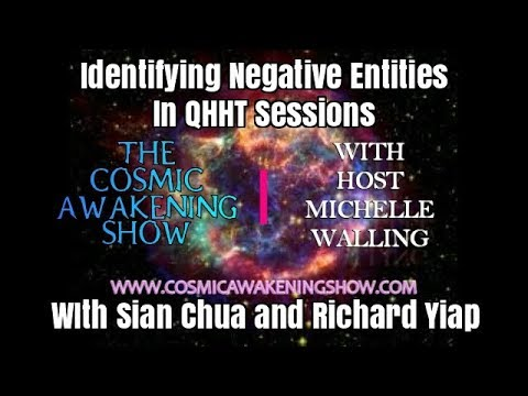 Identifying Negative Entities in QHHT Sessions With Sian Chua
