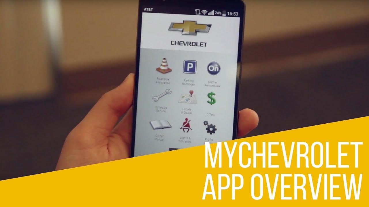 MyChevrolet App: Overview
