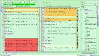 jEdit code editor - Visual file diff utility - Failų palyginimas