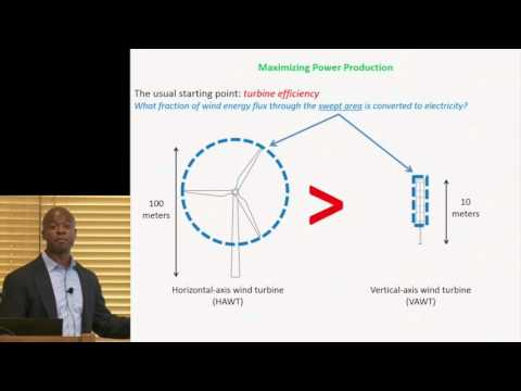 John Dabiri   Opportunities and Challenges for Next-Generation Wind Energy