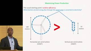 John Dabiri | Opportunities and Challenges for Next-Generation Wind Energy