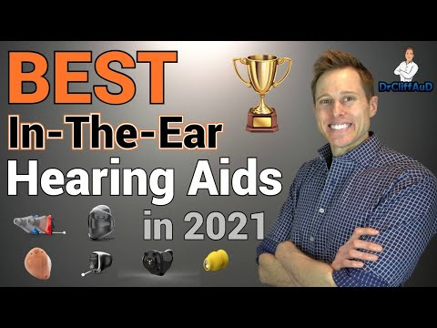 BEST Hearing Aids of 2021 | In-The-Ear Version | Custom & Non-Custom ITEs