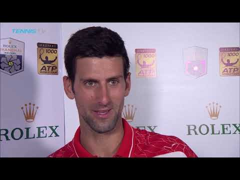 Post match interview- Djokovic: Quickest surface I've experienced in Shanghai