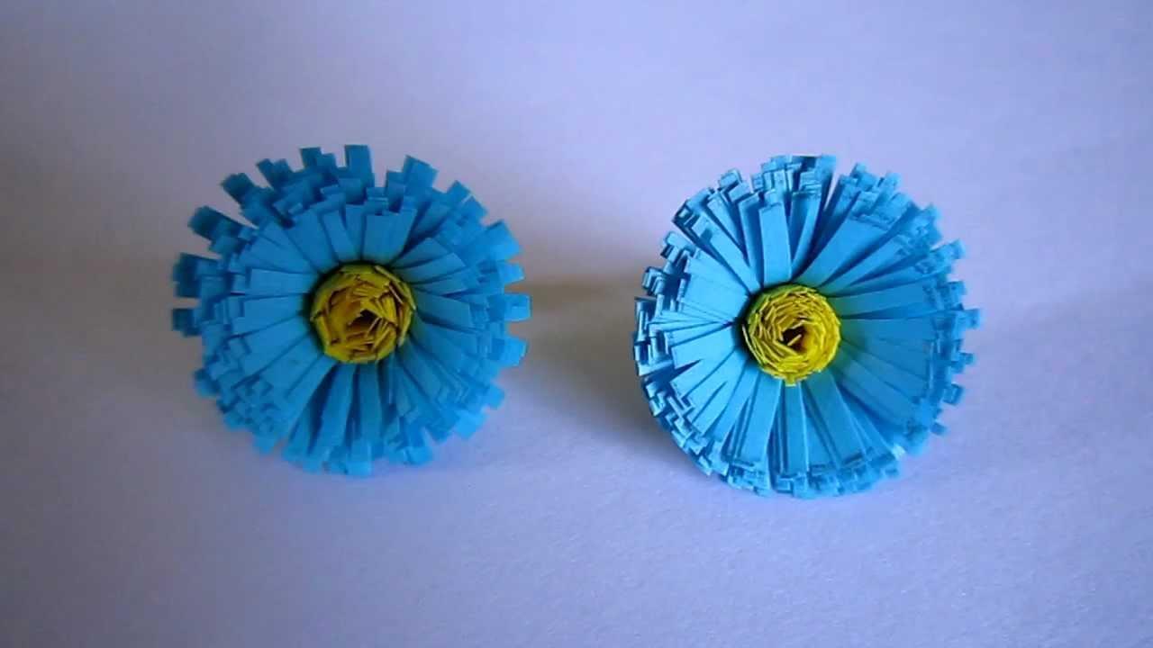 Handmade jewelry paper quilling fringed stud earrings youtube mightylinksfo