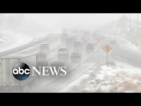 Monster Storms Across The US On Thanksgiving