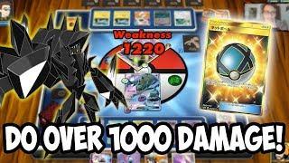 Deal 1000+ Damage, Win a Secret Rare Item! PTCGO Challenge!