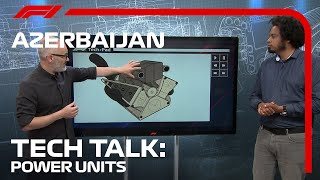 The Difference Between Teams' Poẁer Units   F1 TV Tech Talk   2021 Azerbaijan Grand Prix