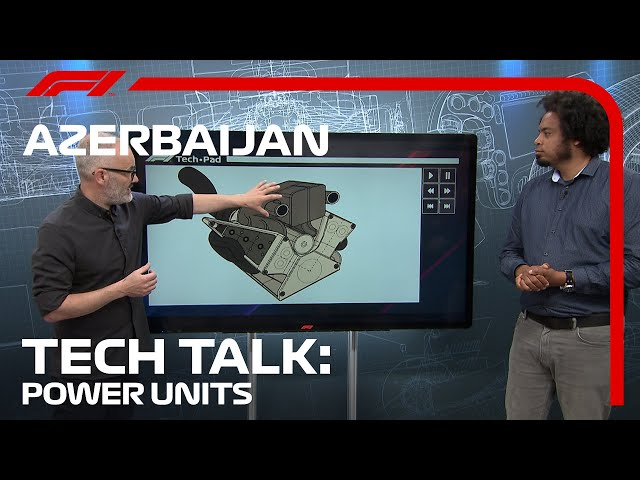 The Difference Between Teams' Power Units   F1 TV Tech Talk   2021 Azerbaijan Grand Prix