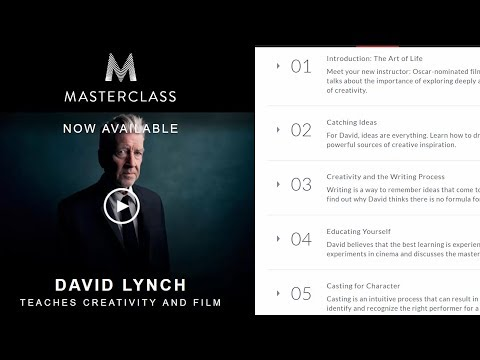 David Lynch Masterclass Notes and Review (9 LESSONS LEARNED)