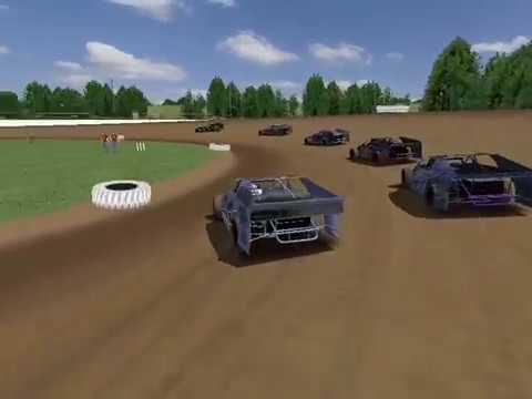 UMP Modifieds at Brownstown Speedway (rFactor DWD)