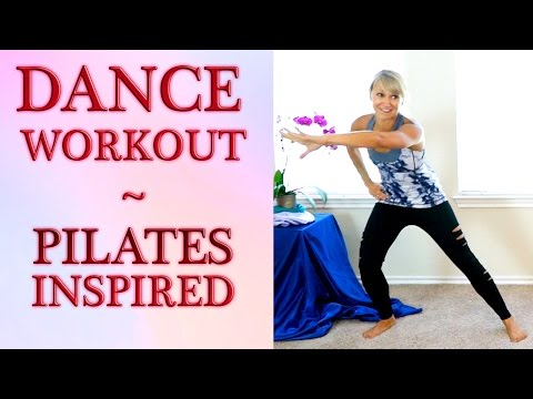 Fun Beginners Dance Workout For Weight Loss, At Home Cardio Pilates Dance Routine