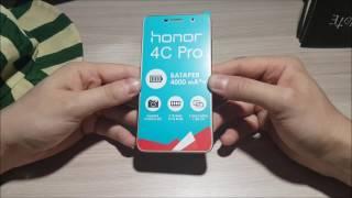 Обзор Huawei Honor 4C Pro