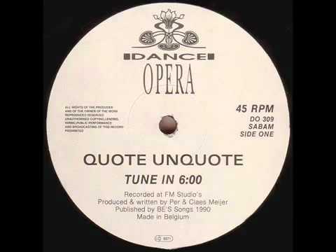 Quote Unquote - Tune In