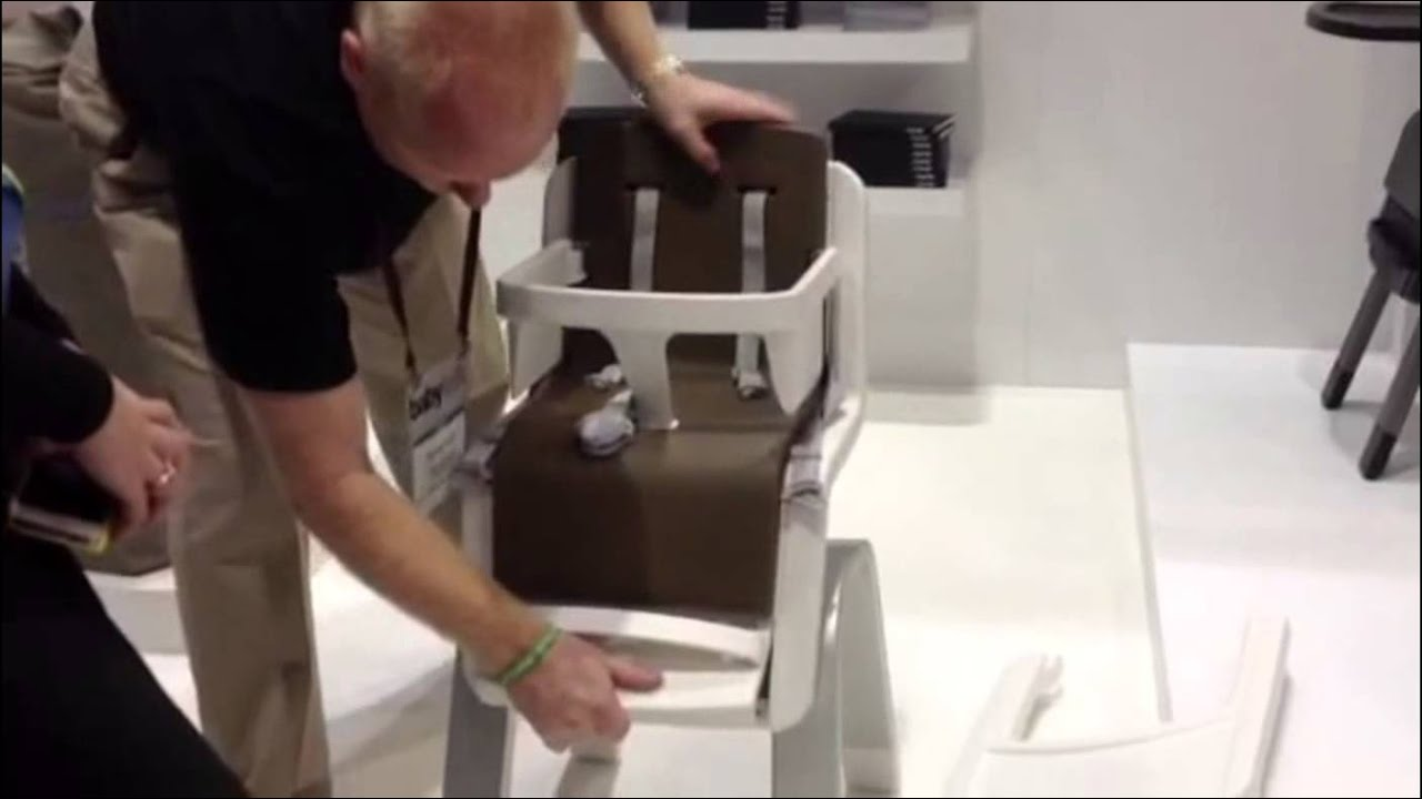 Nuna Zaaz High Chair The Nuna Zaaz High Chair Abc Expo 2012 Youtube